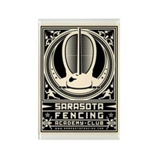 Cute Fence Rectangle Magnet