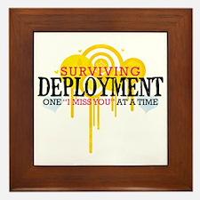 Deployment (I Miss You) Framed Tile