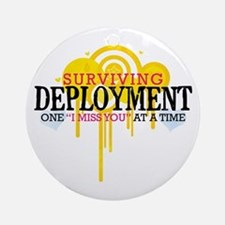 Deployment (I Miss You) Ornament (Round)