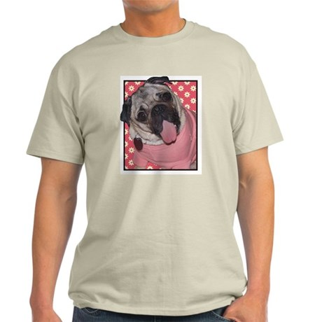 Patsy Carney Daisies on Pink Light T-Shirt