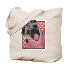 Patsy Carney Daisies on Pink Tote Bag
