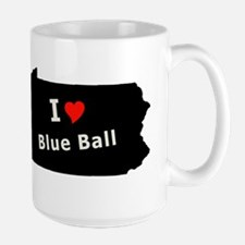 Blue Ball (PA) Funny Pennsyl Mug