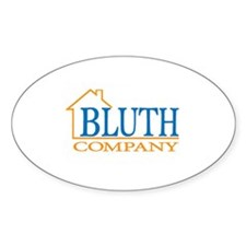 Bluth Company Oval Decal