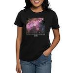 Carl Sagan O Women's Dark T-Shirt
