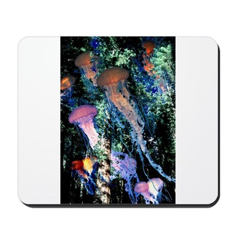 Jellyfish Forest Mousepad