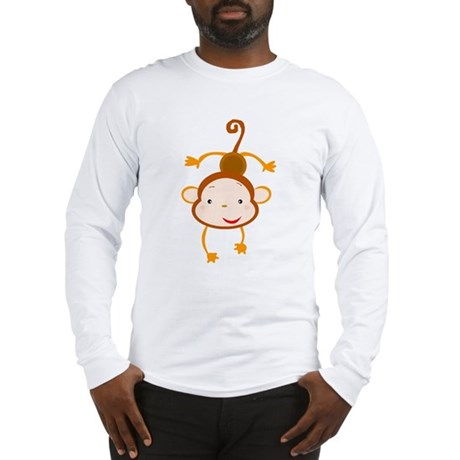 Hanging Monkey Long Sleeve T-Shirt