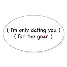 dating U4 the gear Oval Decal