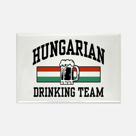 Hungarian Drinking Team Rectangle Magnet