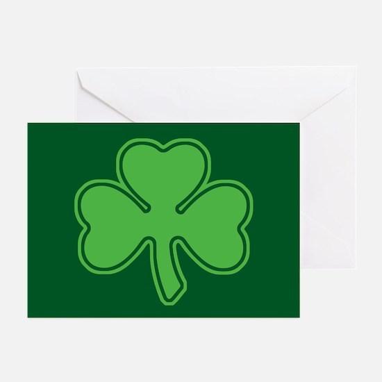 Shamrock Greeting Cards (Pk of 20)