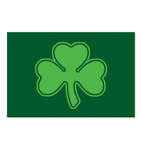 Shamrock Postcards (Package of 8)