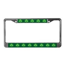 Shamrock License Plate Frame