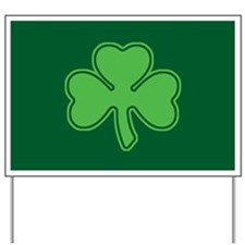 Shamrock Yard Sign