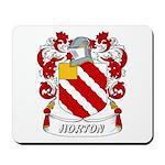 Horton Coat of Arms Mousepad