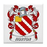 Horton Coat of Arms Tile Coaster