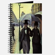 Paris Street Rainy Day by Caillebotte Journal