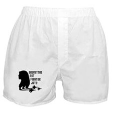 Brunettes Not Fighter Jets 2 Boxer Shorts