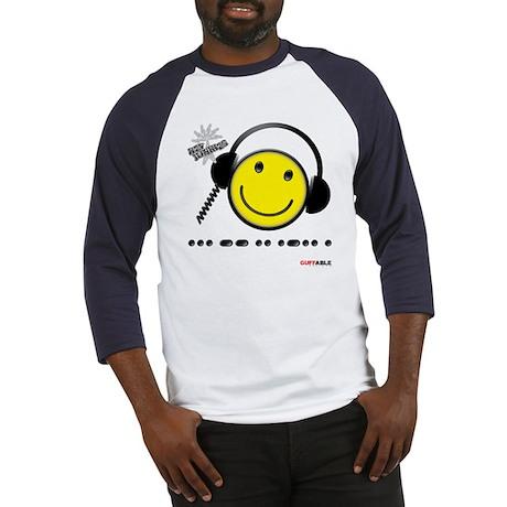 Morse Code - Smile Baseball Jersey