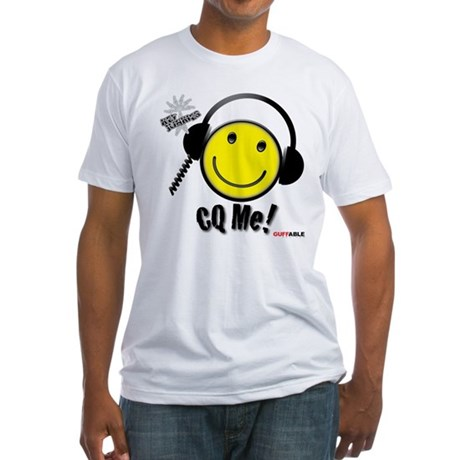 Ham CQ Me! Fitted T-Shirt