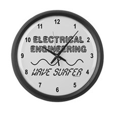 Wave Surfer Large Wall Clock