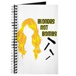 Blondes Not Bombs Journal