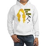 Blondes Not Bombs Hooded Sweatshirt