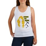 Blondes Not Bombs Women's Tank Top