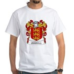 Howell Coat of Arms White T-Shirt