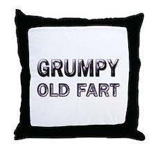 Grumpy Old Fart Throw Pillow
