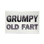 Grumpy Old Fart Rectangle Magnet (10 pack)