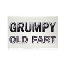 Grumpy Old Fart Rectangle Magnet