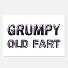 Grumpy Old Fart Postcards (Package of 8)