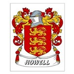 Howell Coat of Arms Small Poster