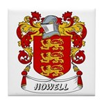 Howell Coat of Arms Tile Coaster