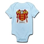 Howell Coat of Arms Infant Creeper