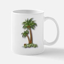 Twin palms Mug