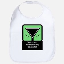 Mom is Advocate Bib