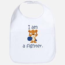 Teddy Bear Fighter Bib