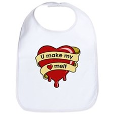 """U Make My Heart Melt"" Bib"