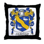 Jenison Coat of Arms Throw Pillow