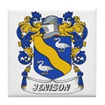 Jenison Coat of Arms Tile Coaster