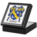 Jenison Coat of Arms Keepsake Box