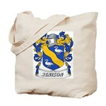 Jenison Coat of Arms Tote Bag