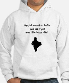 Job to India (Solid Graphic) Hoodie