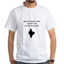 Job to India (Solid Graphic) Shirt