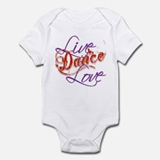 Live, Love, Dance Infant Bodysuit