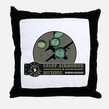 101st Airborne Throw Pillow