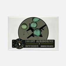 101st Airborne Rectangle Magnet