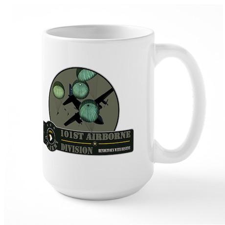 101st Airborne Large Mug