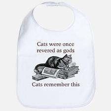 Cats As Gods Bib