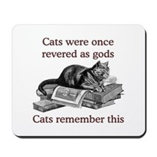 Cats As Gods Mousepad